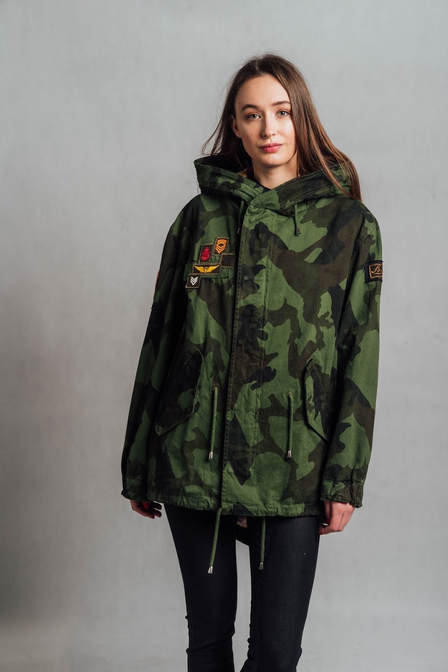 parka barbed italy